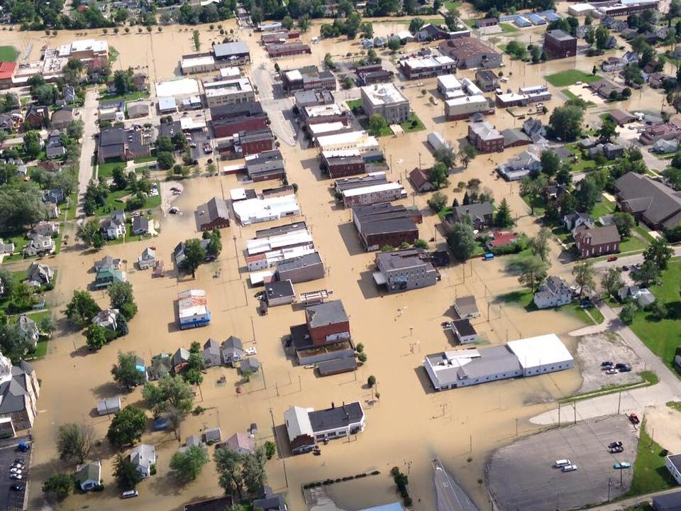 Portland Flood 2015